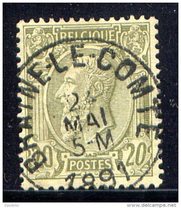 BELGIUM, NO. 56 . - 1884-1891 Leopold II