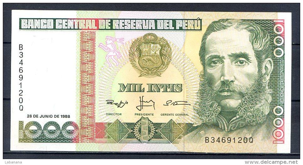 460-Pérou Billet De 500 Intis 1988 B346Q Neuf - Pérou