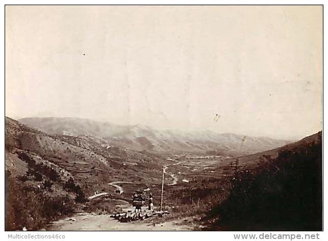 040817 - PHOTOGRAPHIE ANCIENNE ASIE - COREE DU SUD -  Vallée Près De SEOUL  Une Piste Du Col De KU HIAN - Corée Du Sud