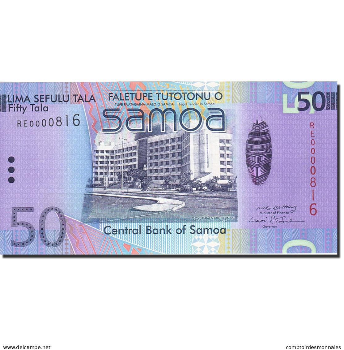 Samoa Occidentales, 50 Tala, 2008, 2008, KM:41a, NEUF - Samoa
