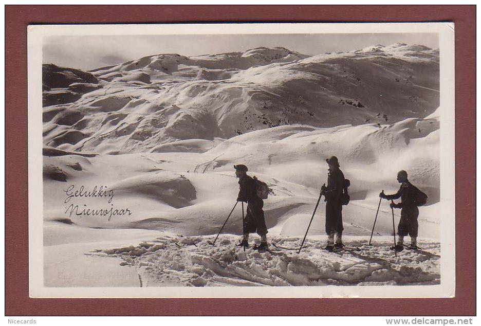 BERGSTEIGER / ALPINISTES En Haute Montagne - Gelukkig Nieuwjaar - Alpinisme