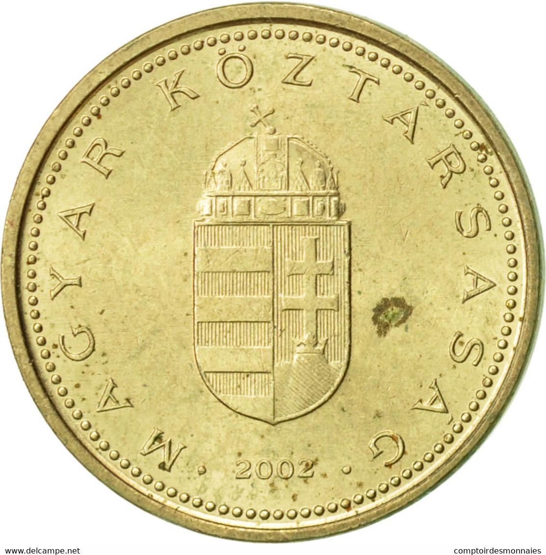 Hongrie, Forint, 2002, Budapest, TTB, Nickel-brass, KM:692 - Hongrie