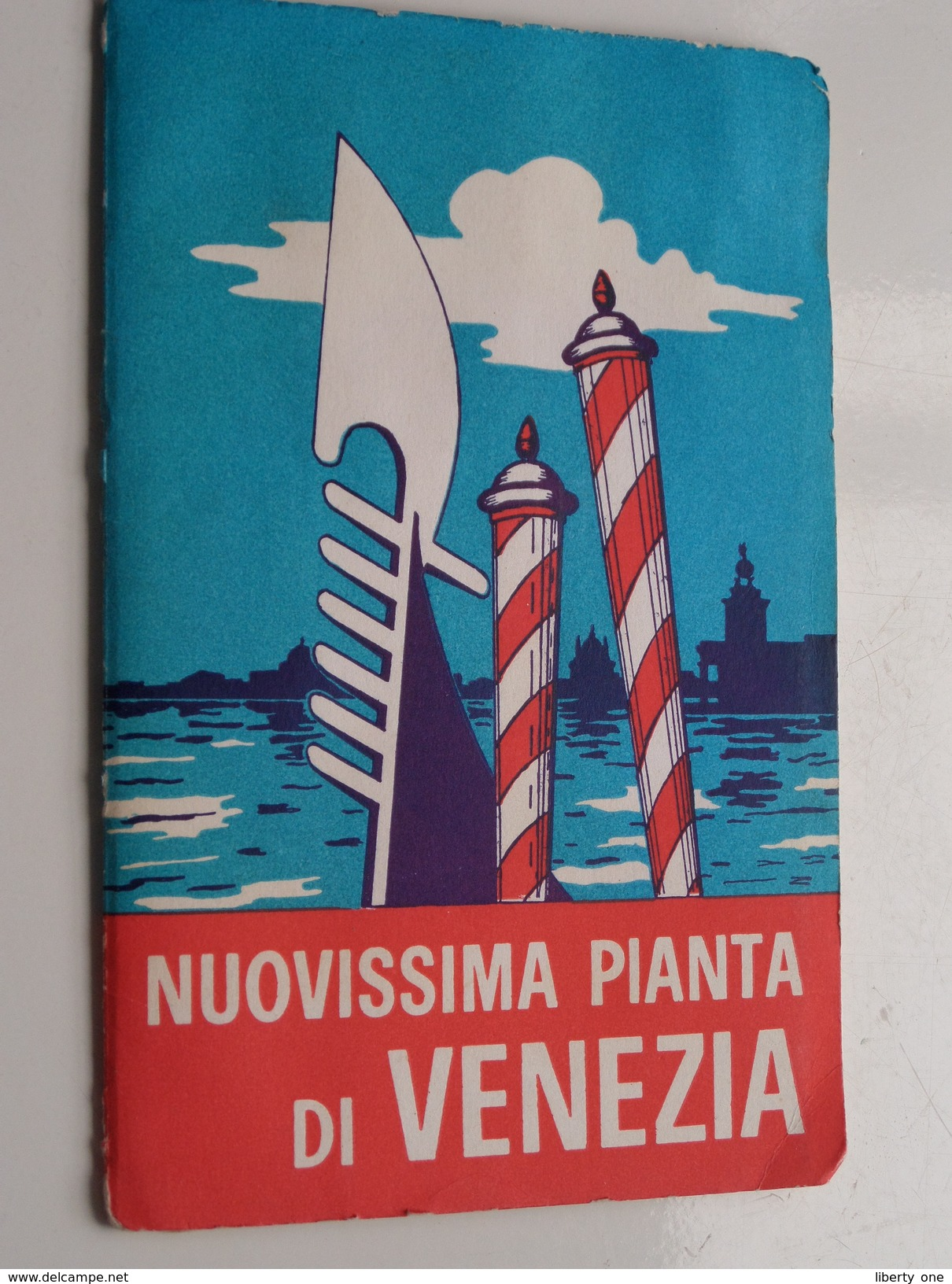 Nuovissima Pianta Di VENEZIA 1/10.000 ( Edizione De Demo - Venezia ) ! - Europe
