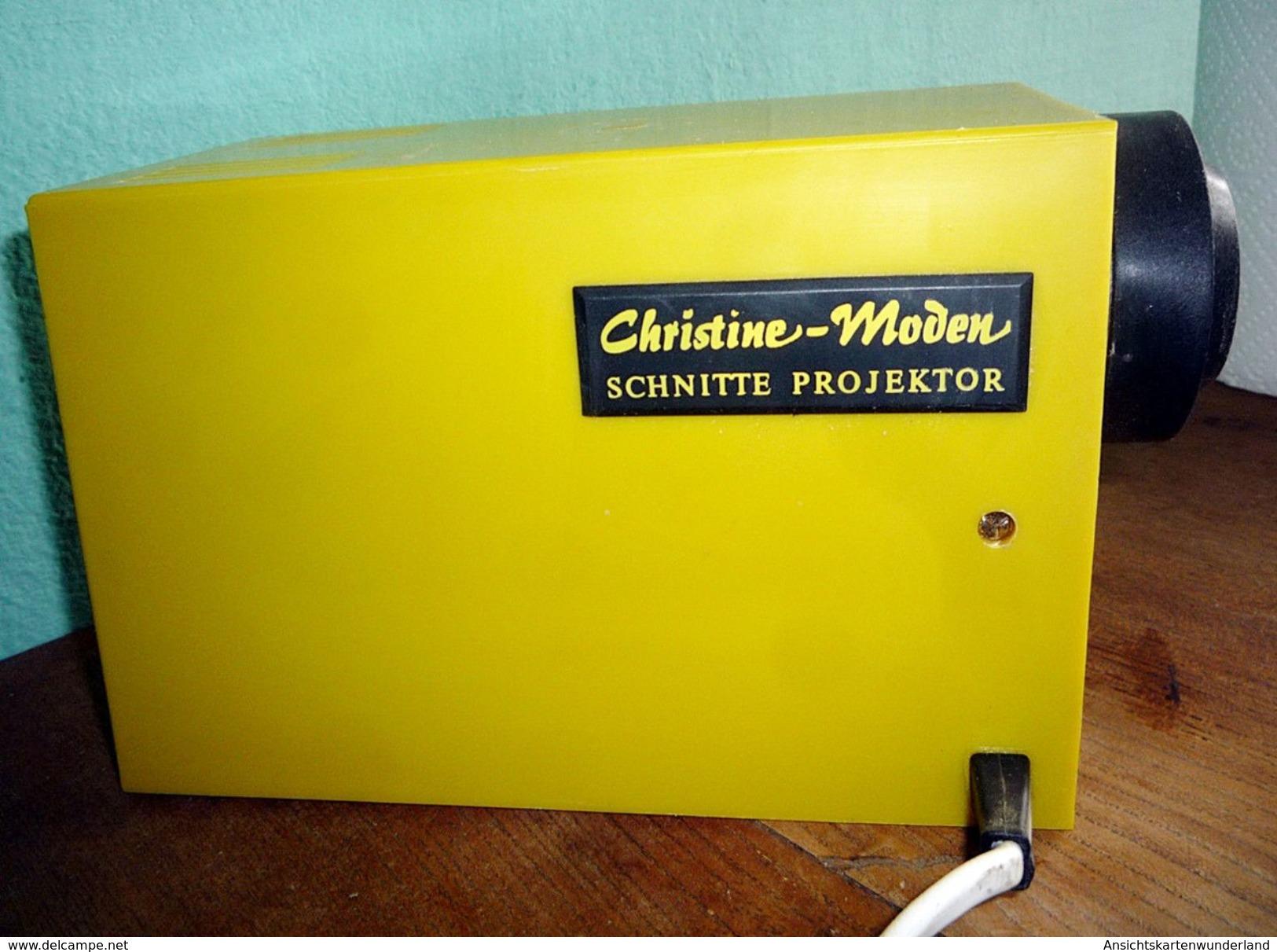 Schnittmuster Projektor Christine Moden 70er Jahre - Projecteurs