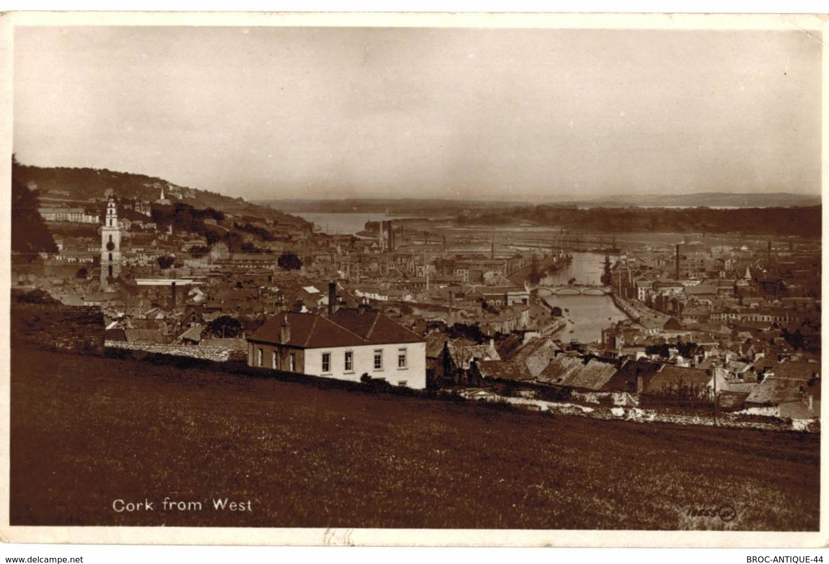 CPA N°5290 - CORK FROM WEST - Cork