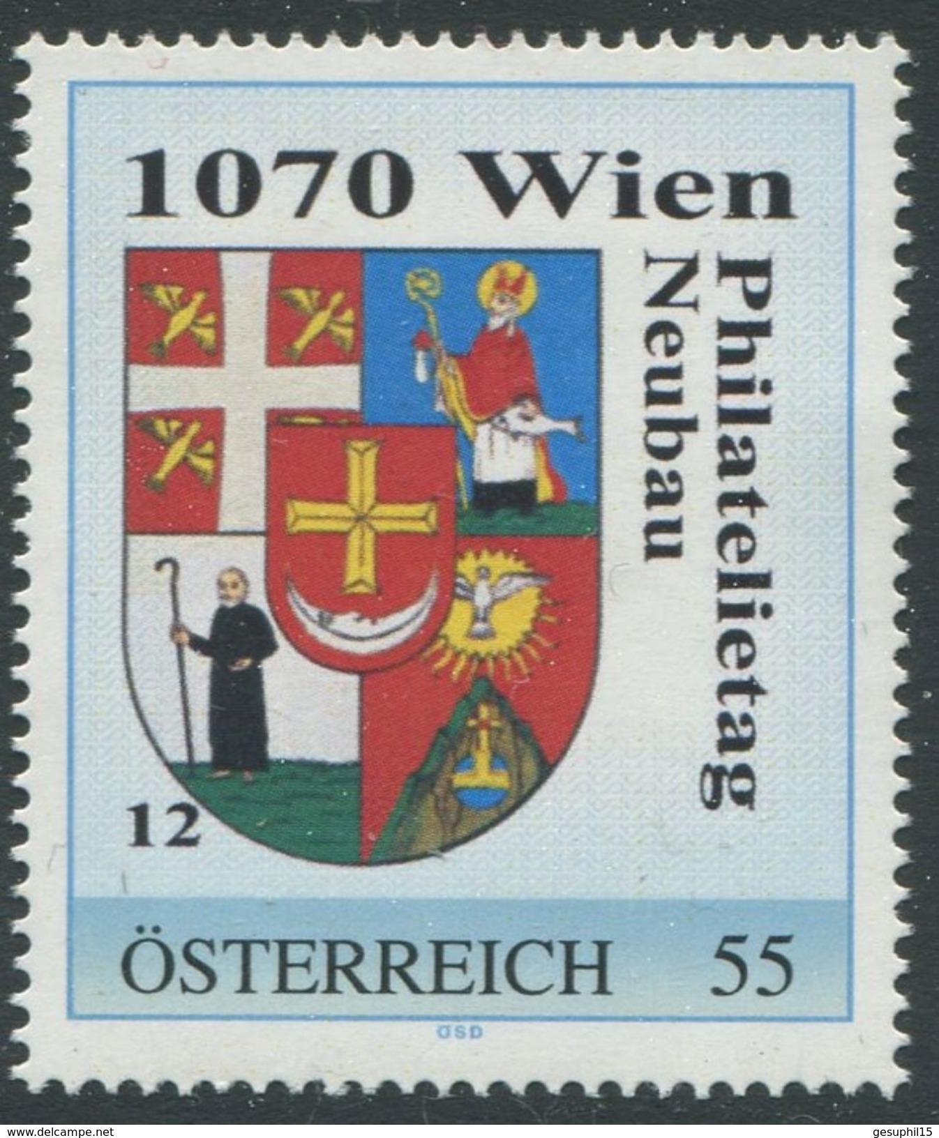 ÖSTERREICH / Philatelietag 1070 Wien / 8024556 / Postfrisch / ** / MNH - Personalisierte Briefmarken