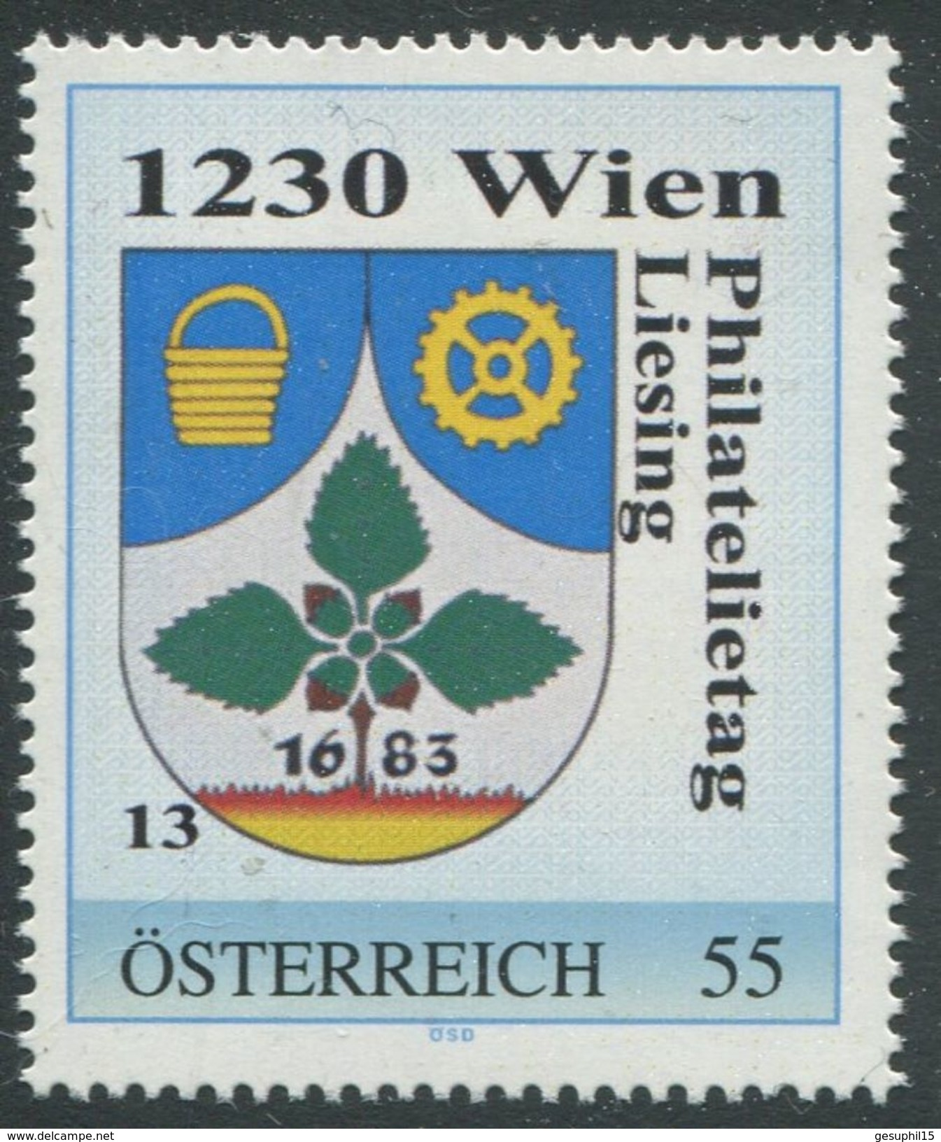 ÖSTERREICH / Philatelietag 1230 Wien / 8024557 / Postfrisch / ** / MNH - Personalisierte Briefmarken