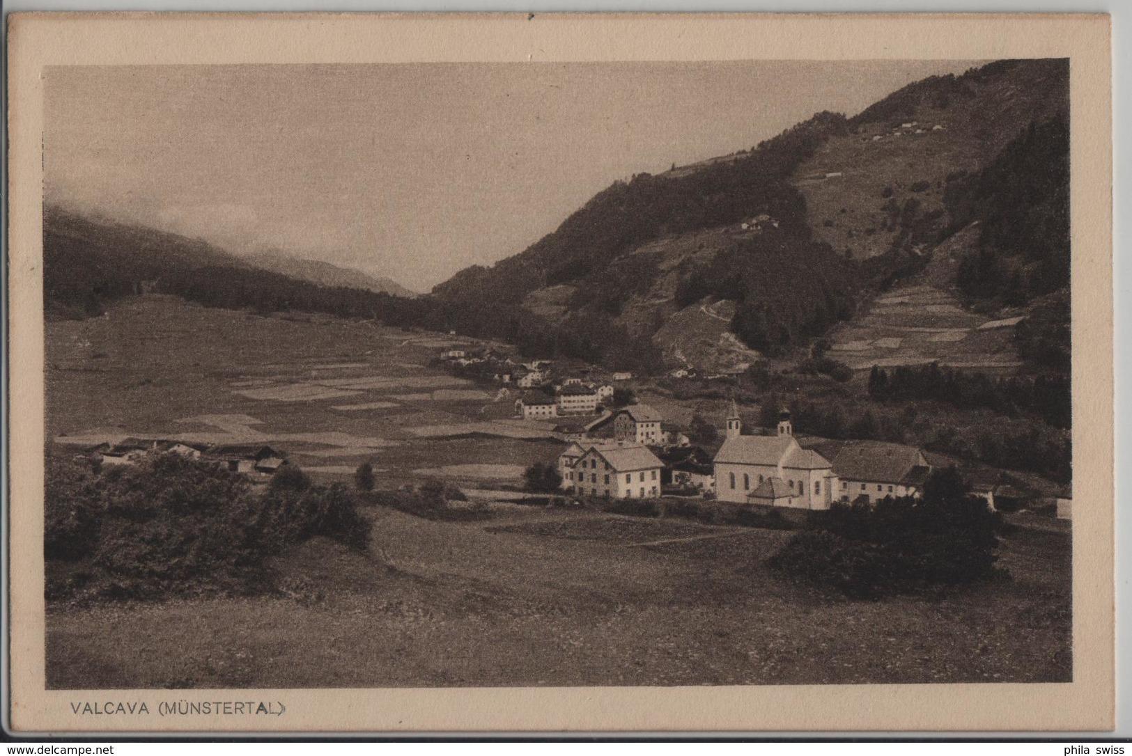 Valcava (Münstertal) - Photo: J. Feuerstein - GR Grisons