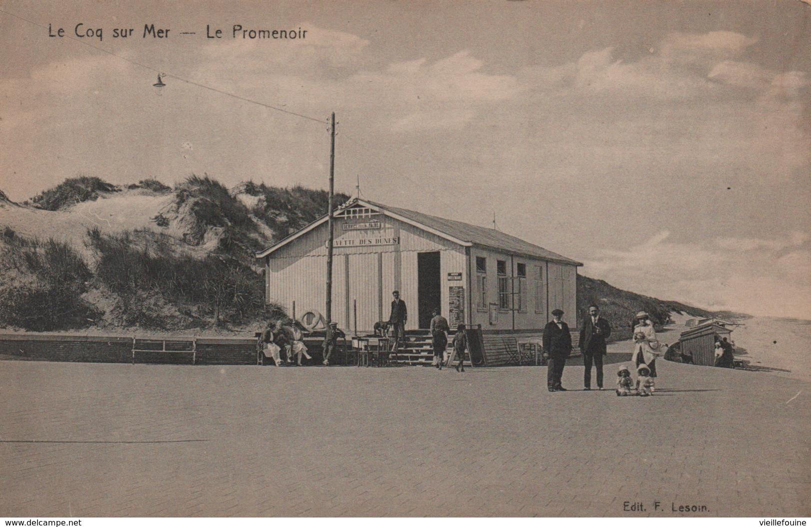 Le Coq Sur Mer - Le Promenoir - Belgique
