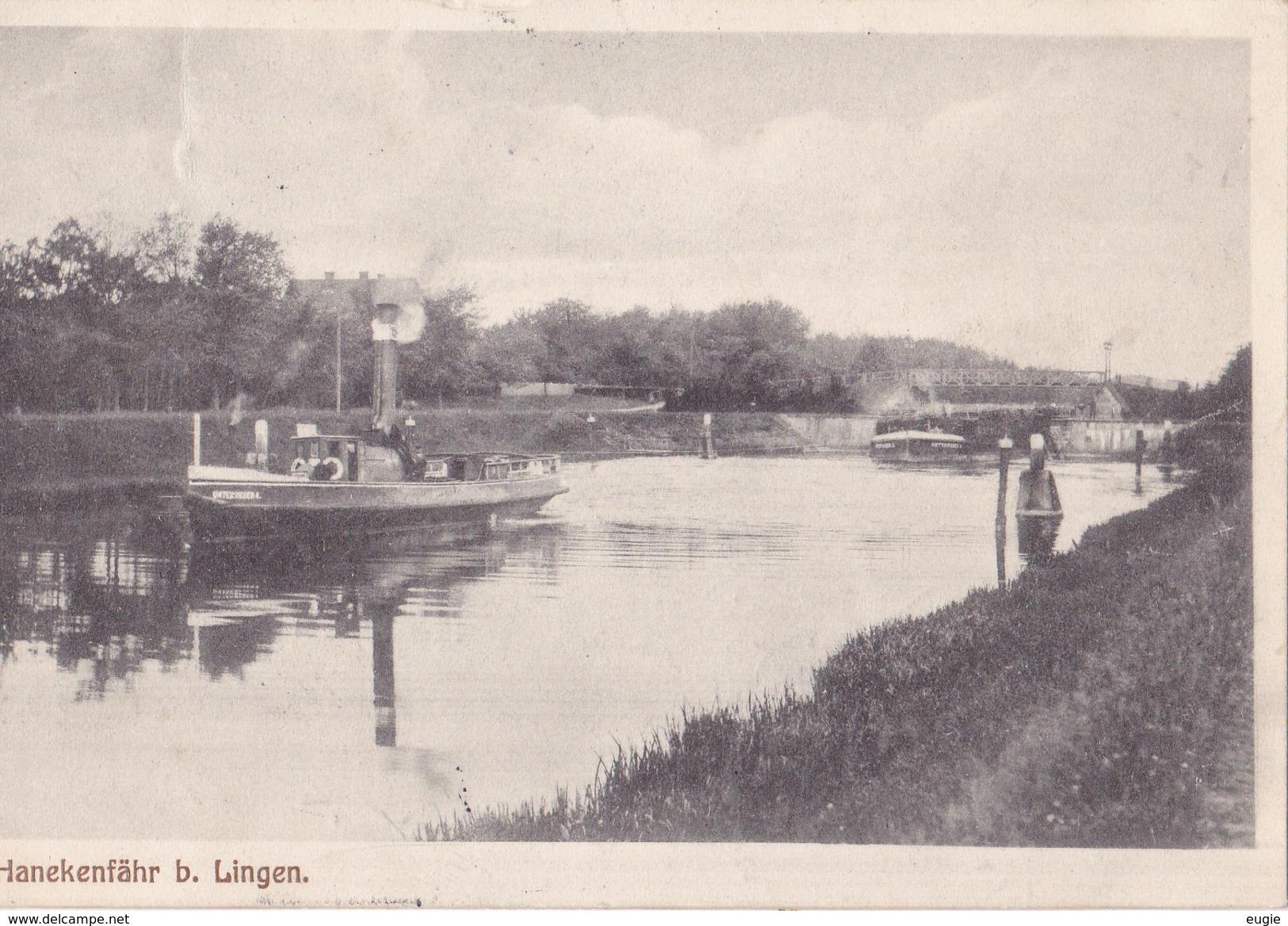 55/ Hanekenfähr Bei Lingen 1916 - Lingen