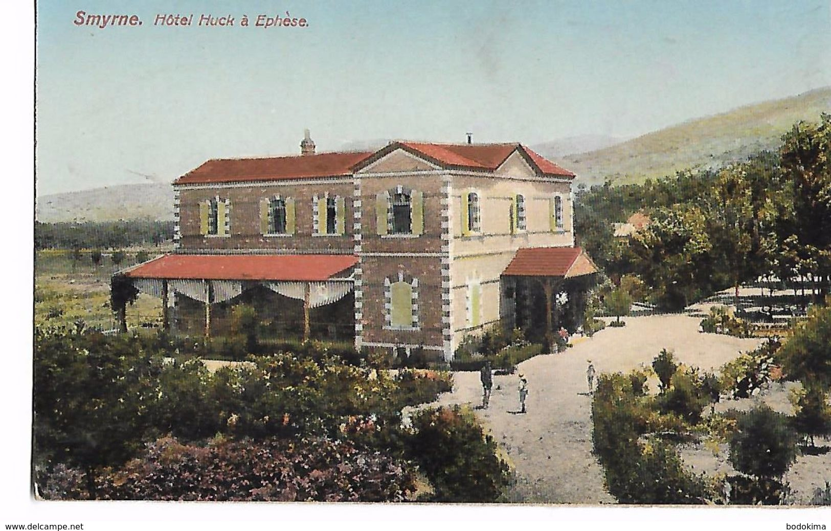Smyrne  -  Hotel  Huck  à  Ephèse - Turquie