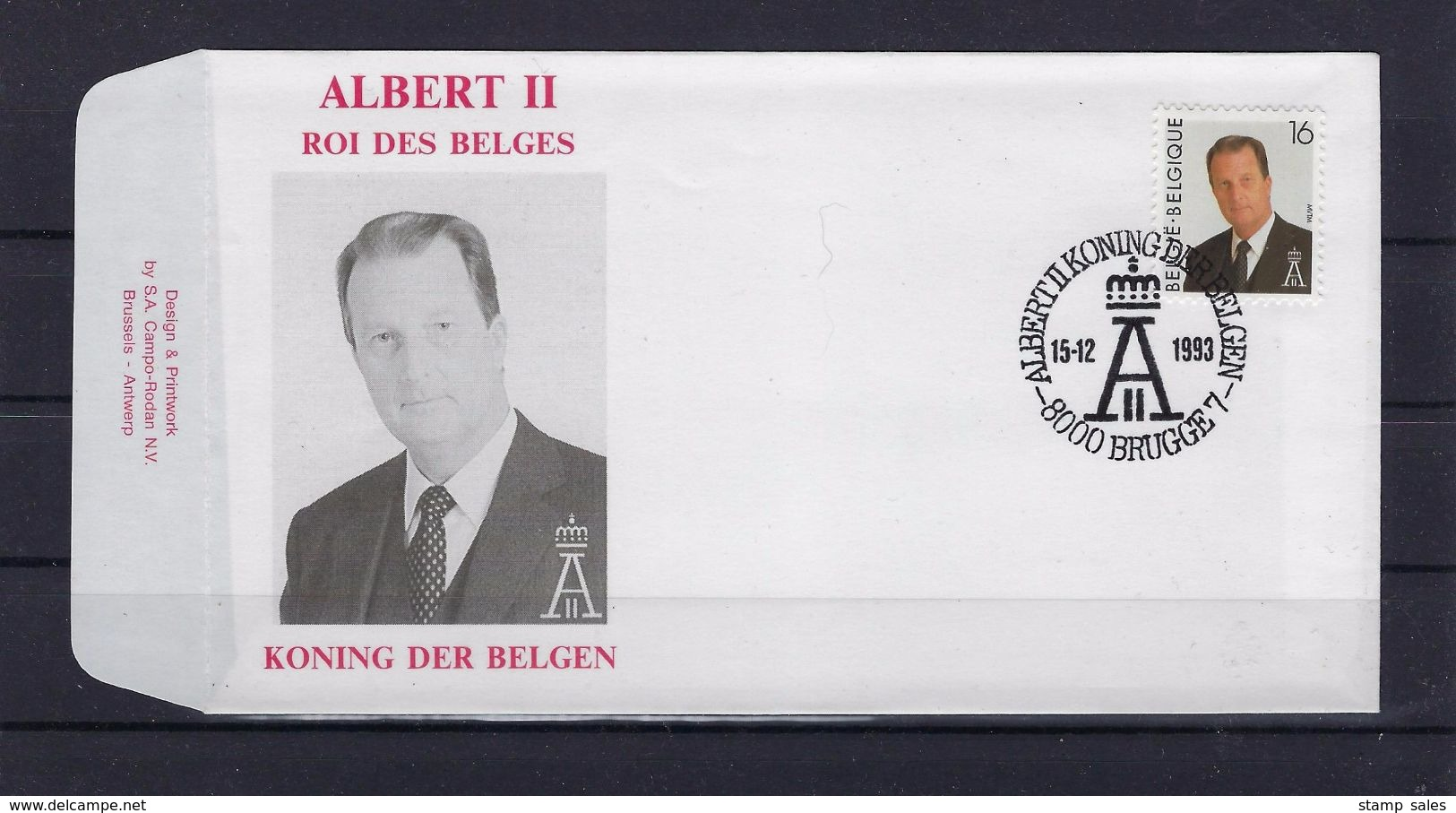 N°2532FDC GESTEMPELD Brugge 7 COB € 6,00 SUPERBE - 1991-00