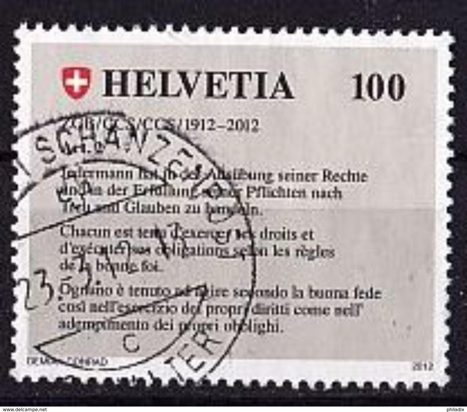 SCHWEIZ Mi. Nr. 2236 O (A-4-50) - Schweiz