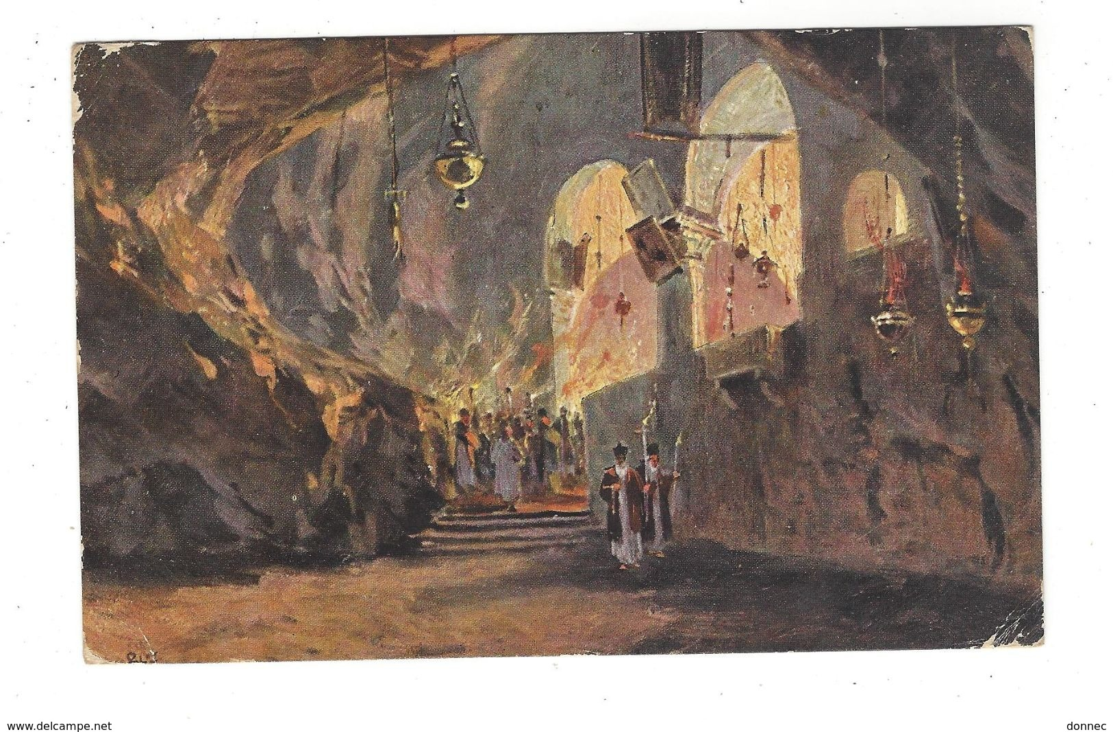 OBLITERATION  Jérusalem Poste Turque Empire Ottoman 1911 - Palestine