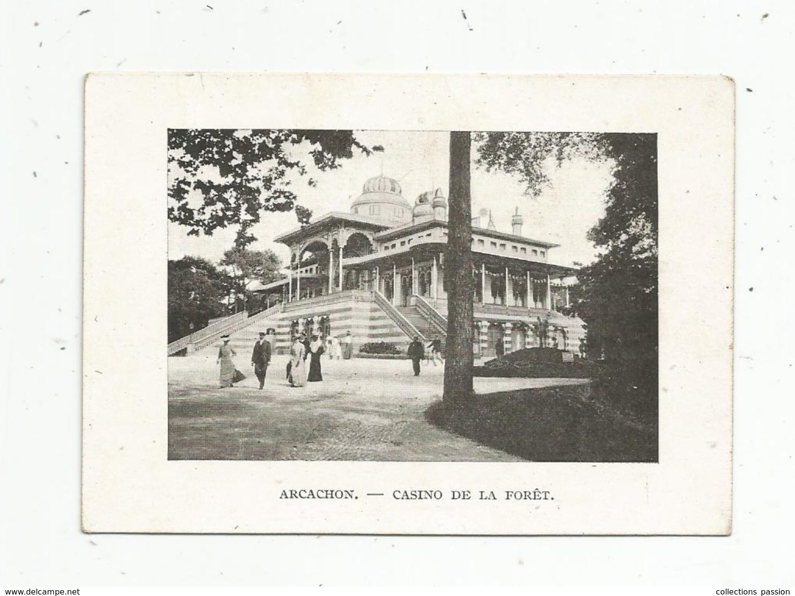 Photographie , 10.5 X 7.5 , Collection Des Châteaux Historiques , 2 E Série , N° 30 , ARCACHON , Casino , 2 Scans - Plaatsen
