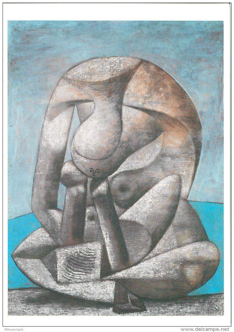 CPM Art - Pablo Picasso - Grande Baigneuse Au Livre - Peintures & Tableaux