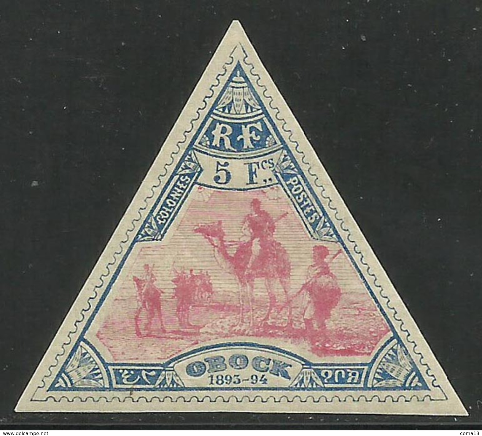 Obock - Méharistes - N° 61 Neuf Avec Charnière. - Neufs