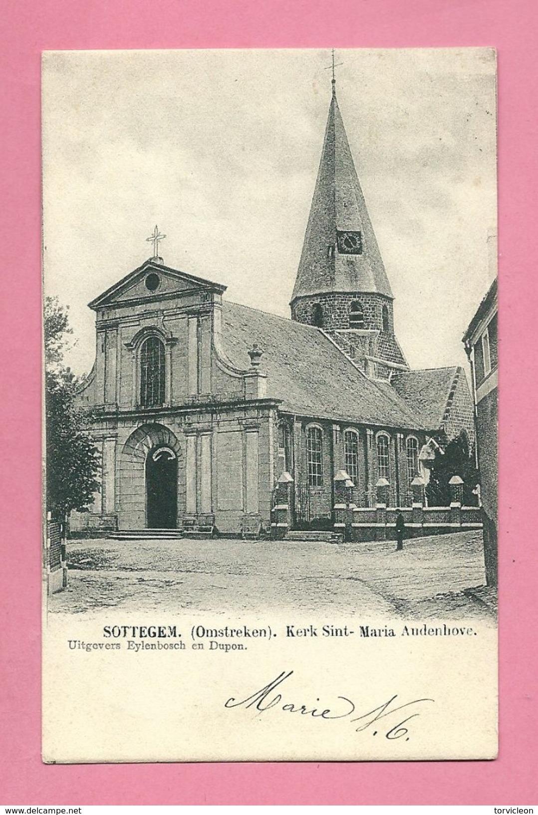 C.P. Zottegem = Kerk  Sint-Maria  Audenhove - Zottegem