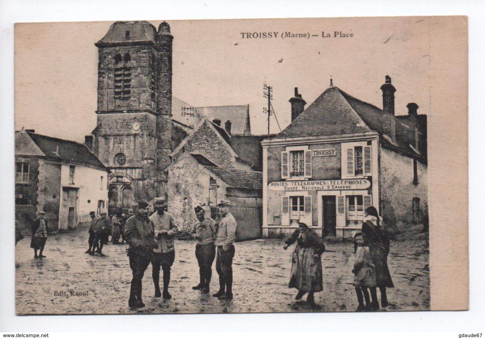 TROISSY (51) - LA PLACE - France