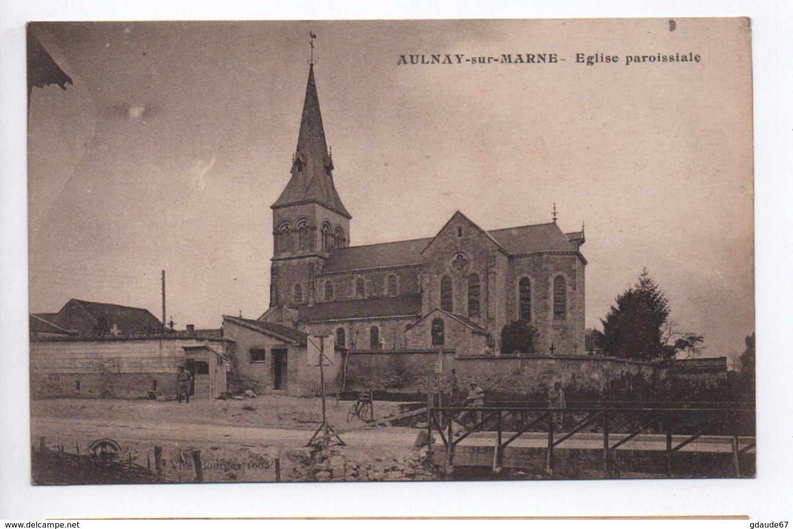AULNAY SUR MARNE (51) - EGLISE PAROISSIALE - France