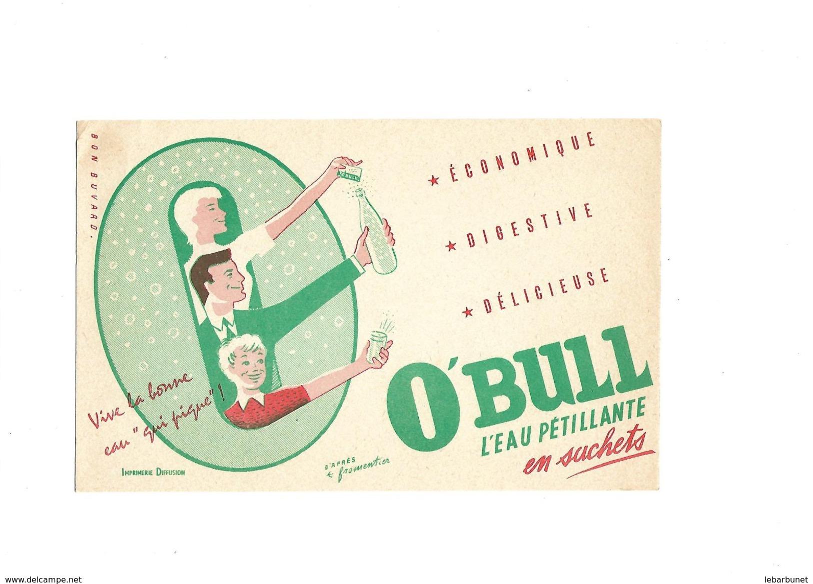 Buvard Eau Pétillante O'Bull - Blotters