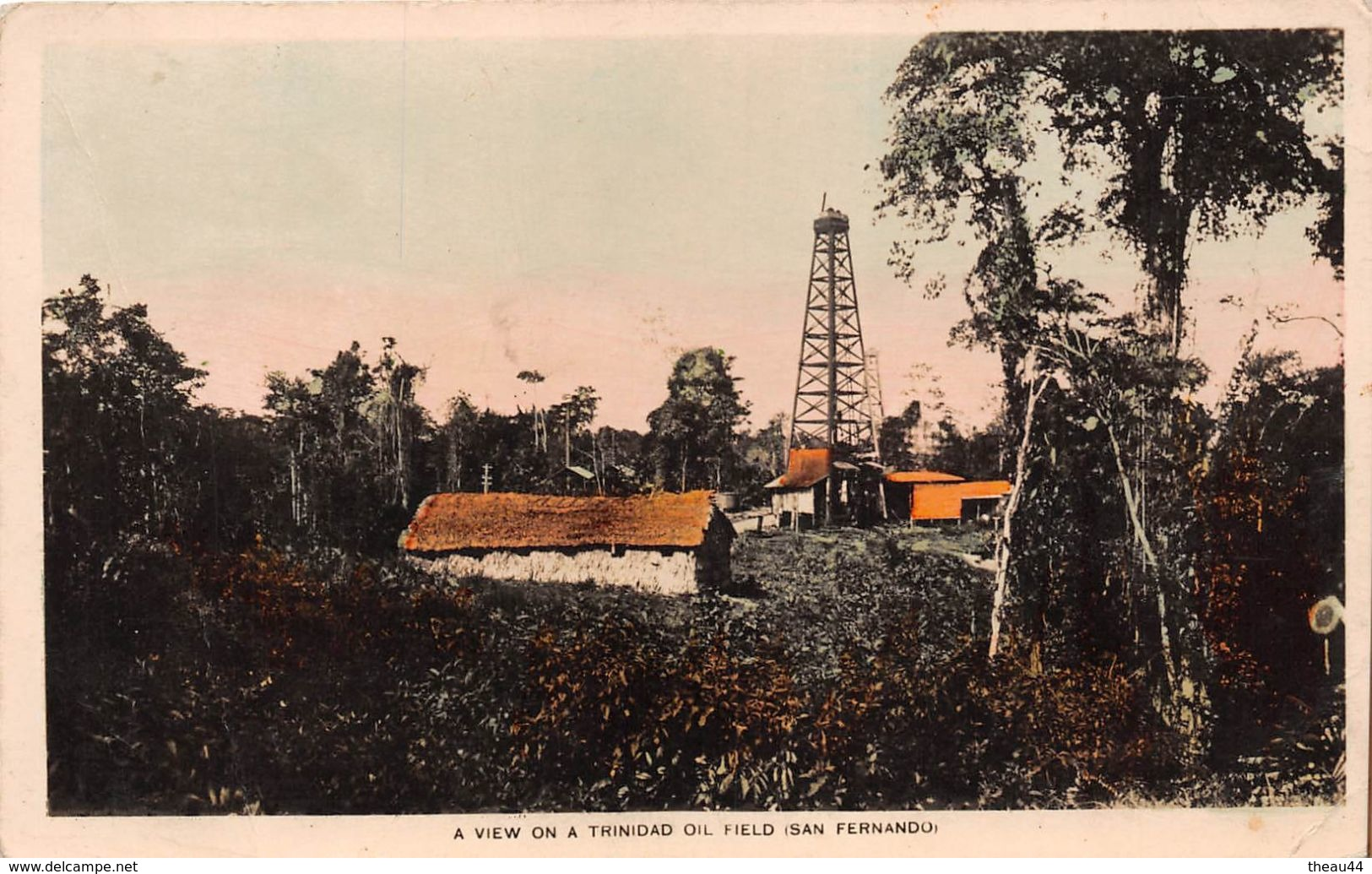 ¤¤  -  A View On A TRINIDAD Oil Field  -  SAN-FERNANDO  -  ¤¤ - Trinidad
