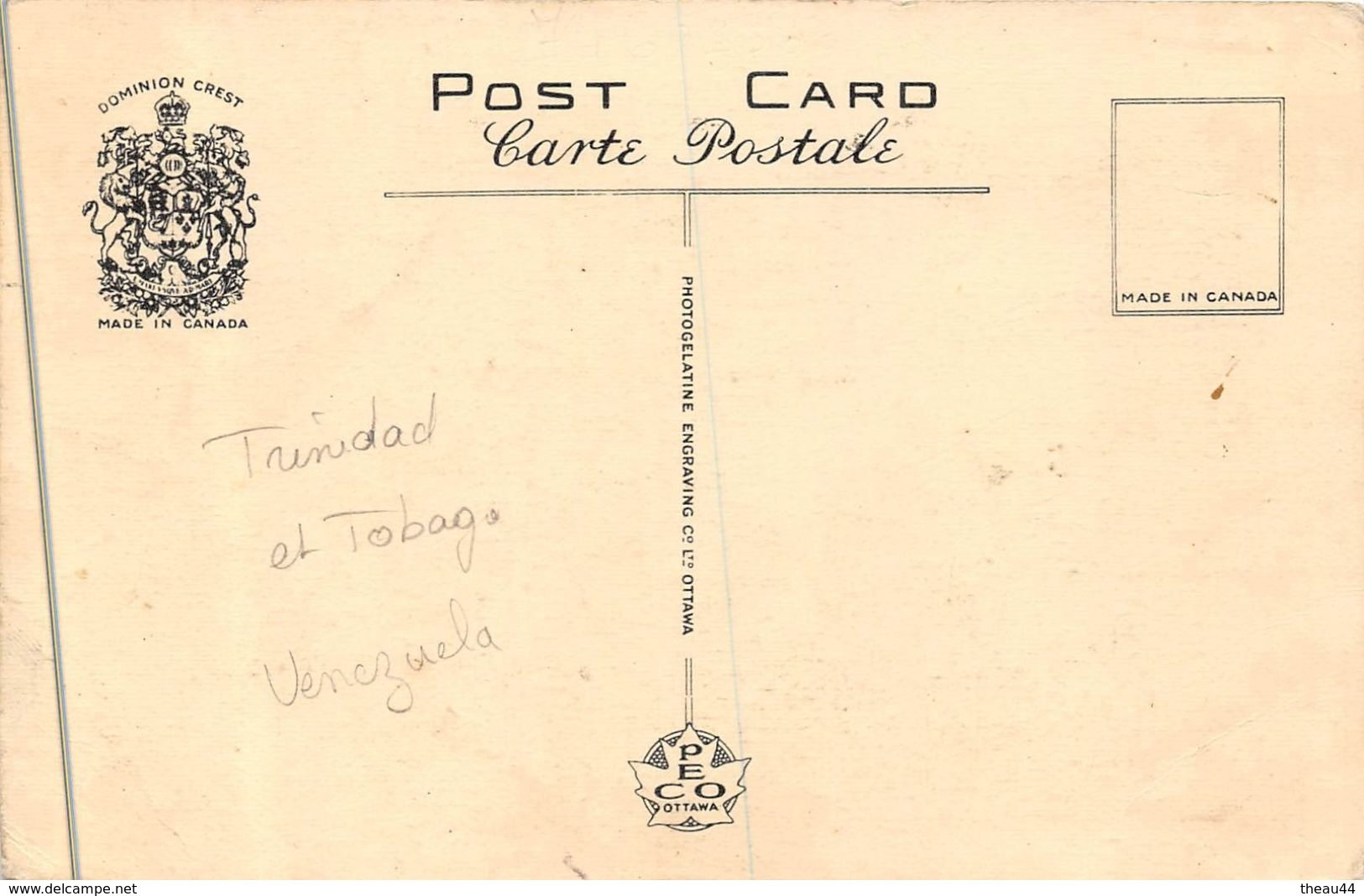 ¤¤  -  Customs,  TRINIDAD    -  ¤¤ - Trinidad