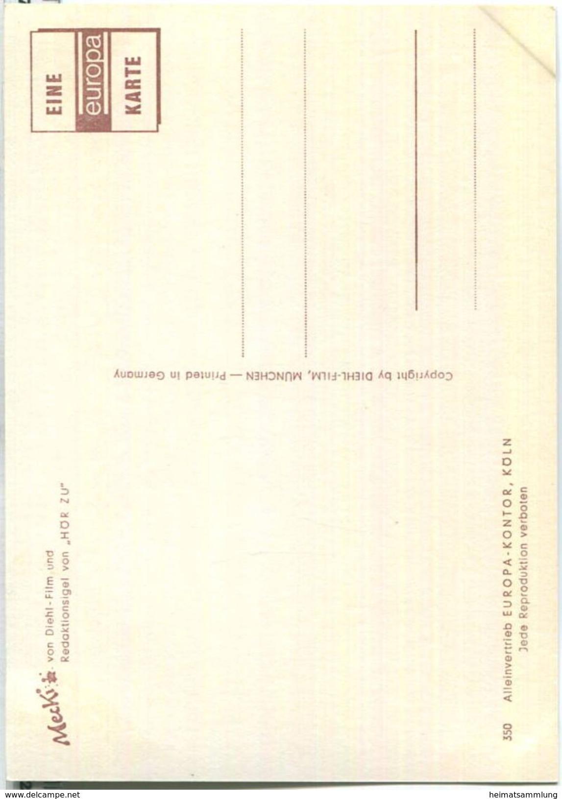 Mecki - ...komm Bald Wieder! - Nr. 350 - Verlag Europa-Kontor Köln - Mecki