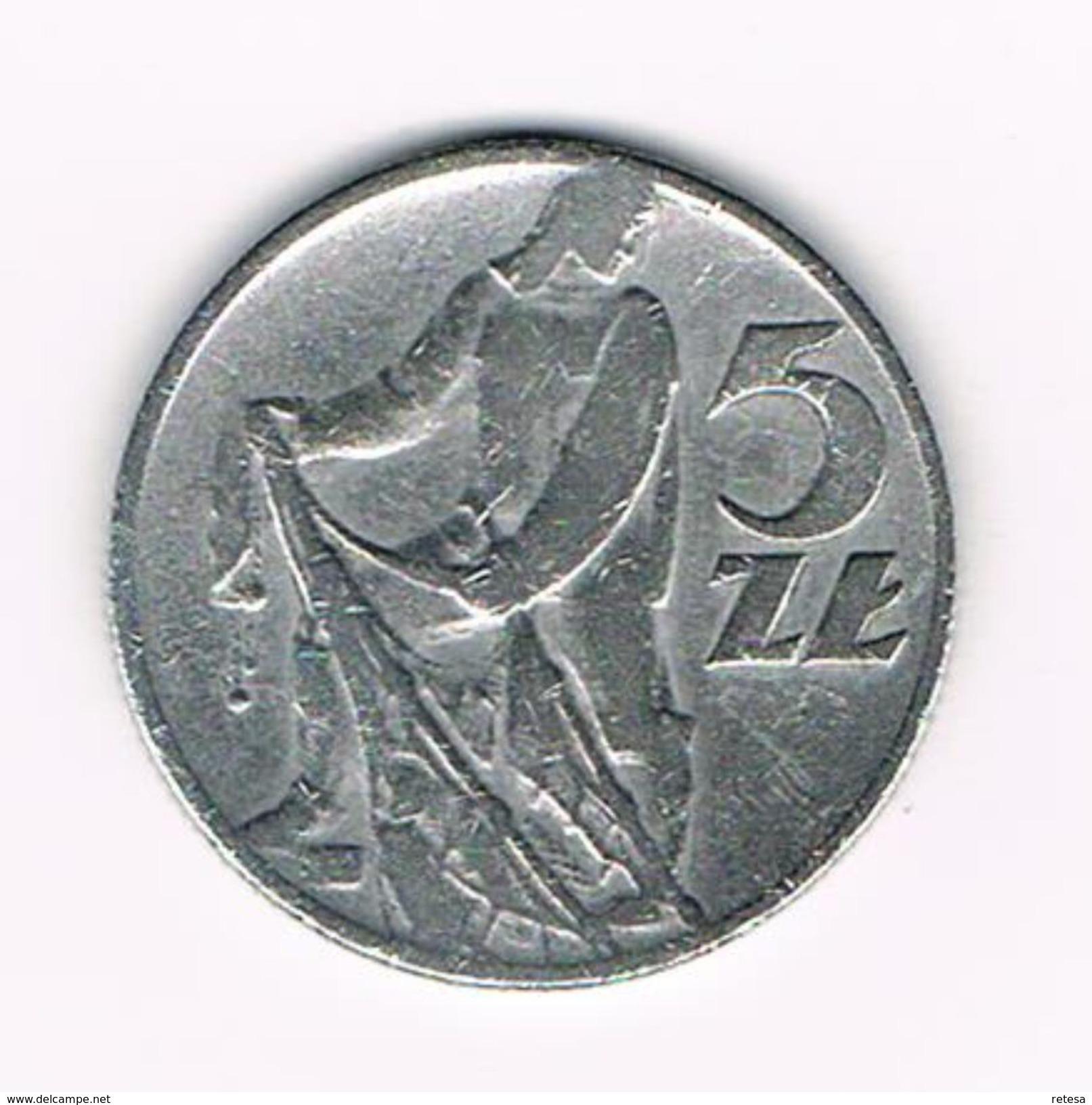 ) POLEN  5 ZLOTYCH  1960 - Polen