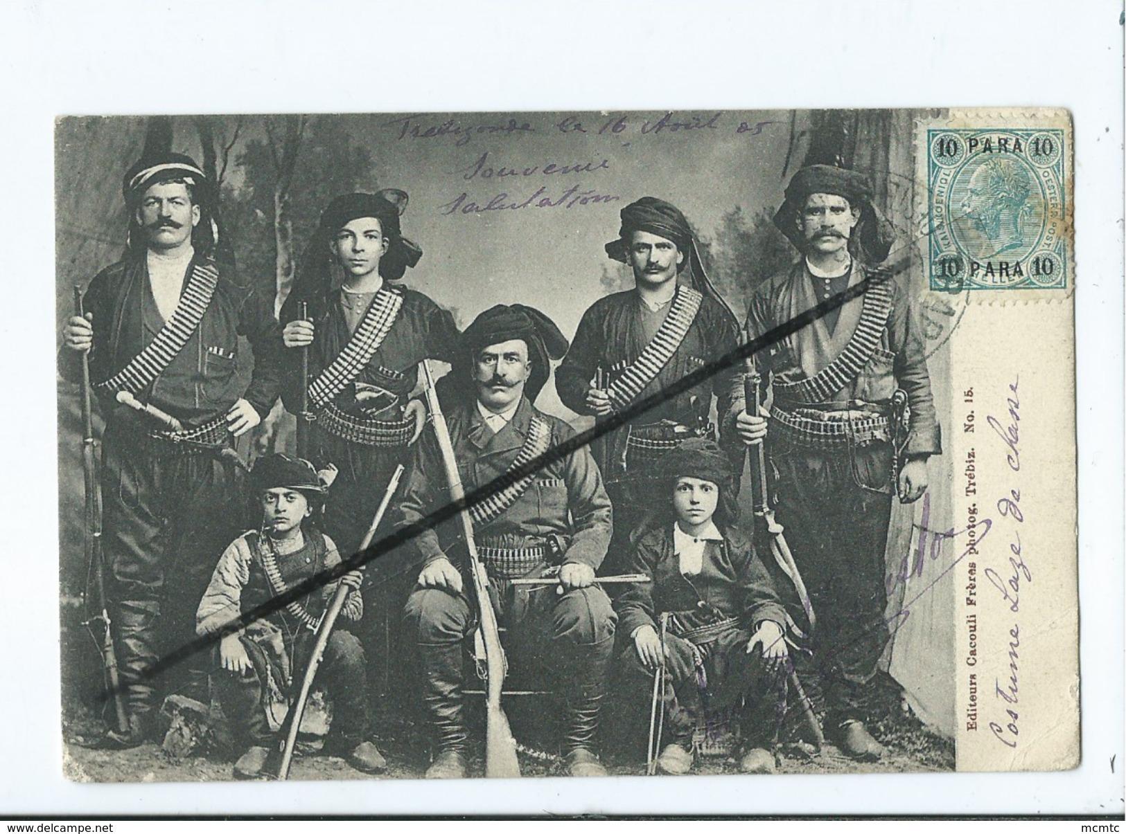 CPA -  Turquie D'Asie   -  Chasseurs  - Chasseur - (costume Laze De Chasse ) Trébizonde  (trabzon ) - Cartes Postales