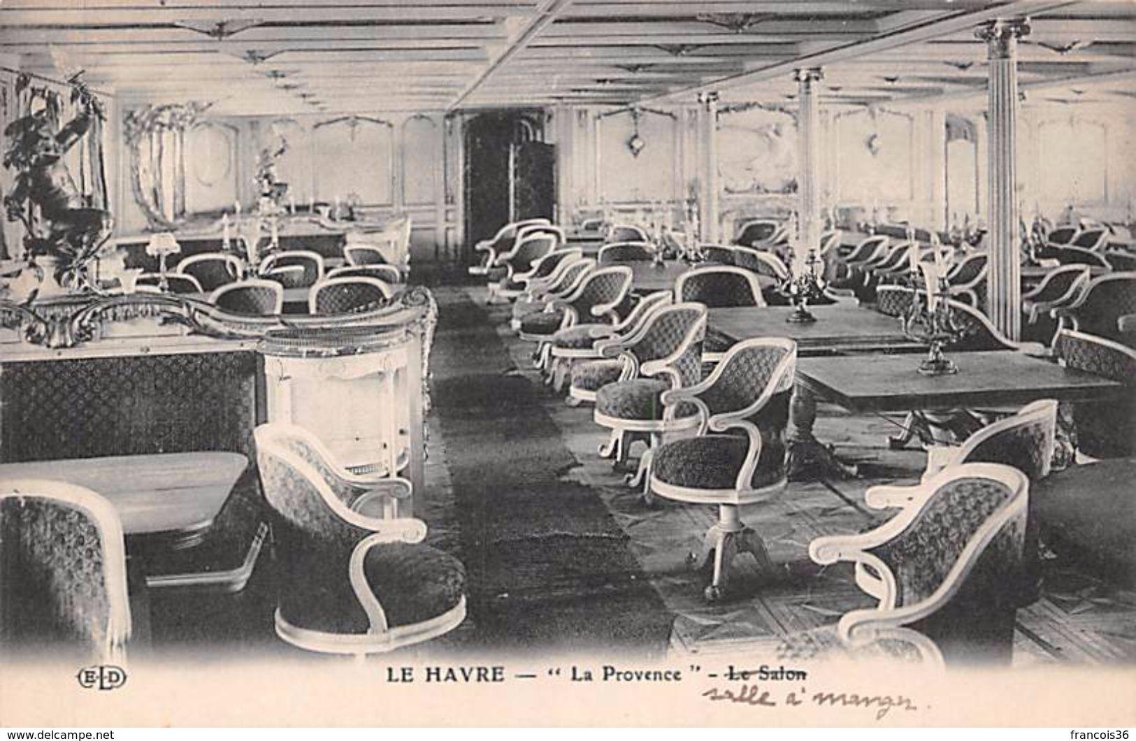 Lot De 12 CPA - Marine De Commerce - Intérieur Du Paquebot - Commerce