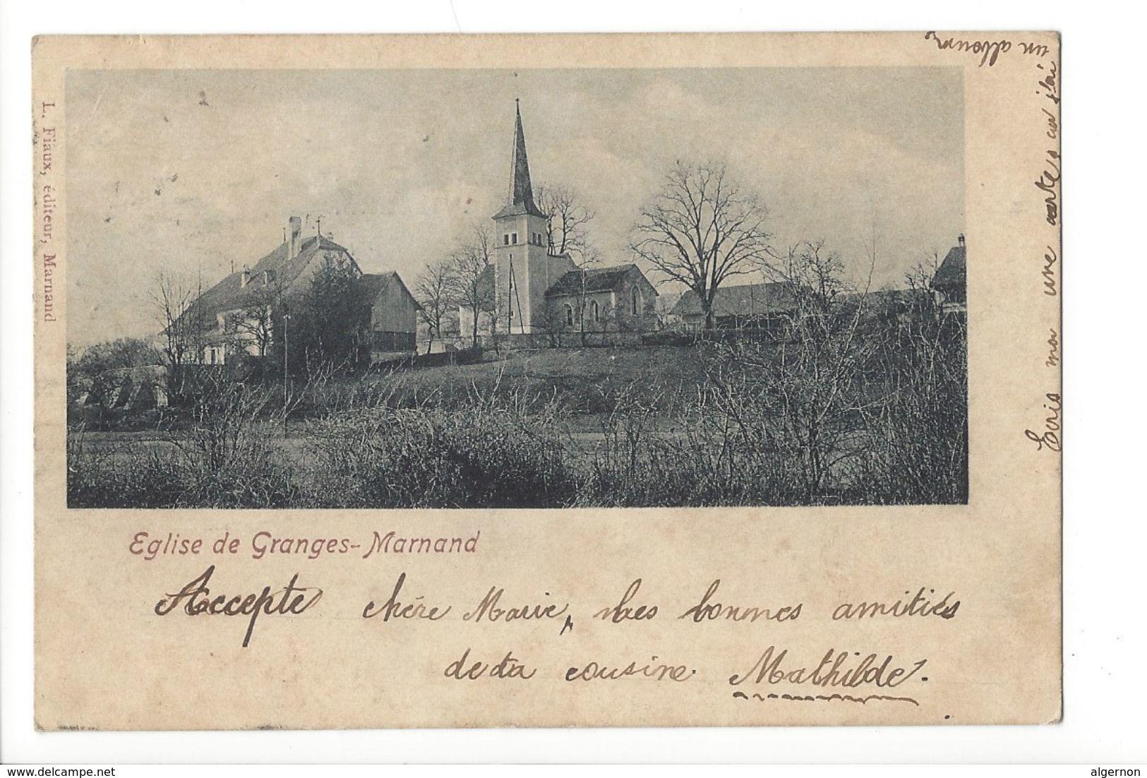 17242 - Eglise De Granges-Marnand - VD Vaud
