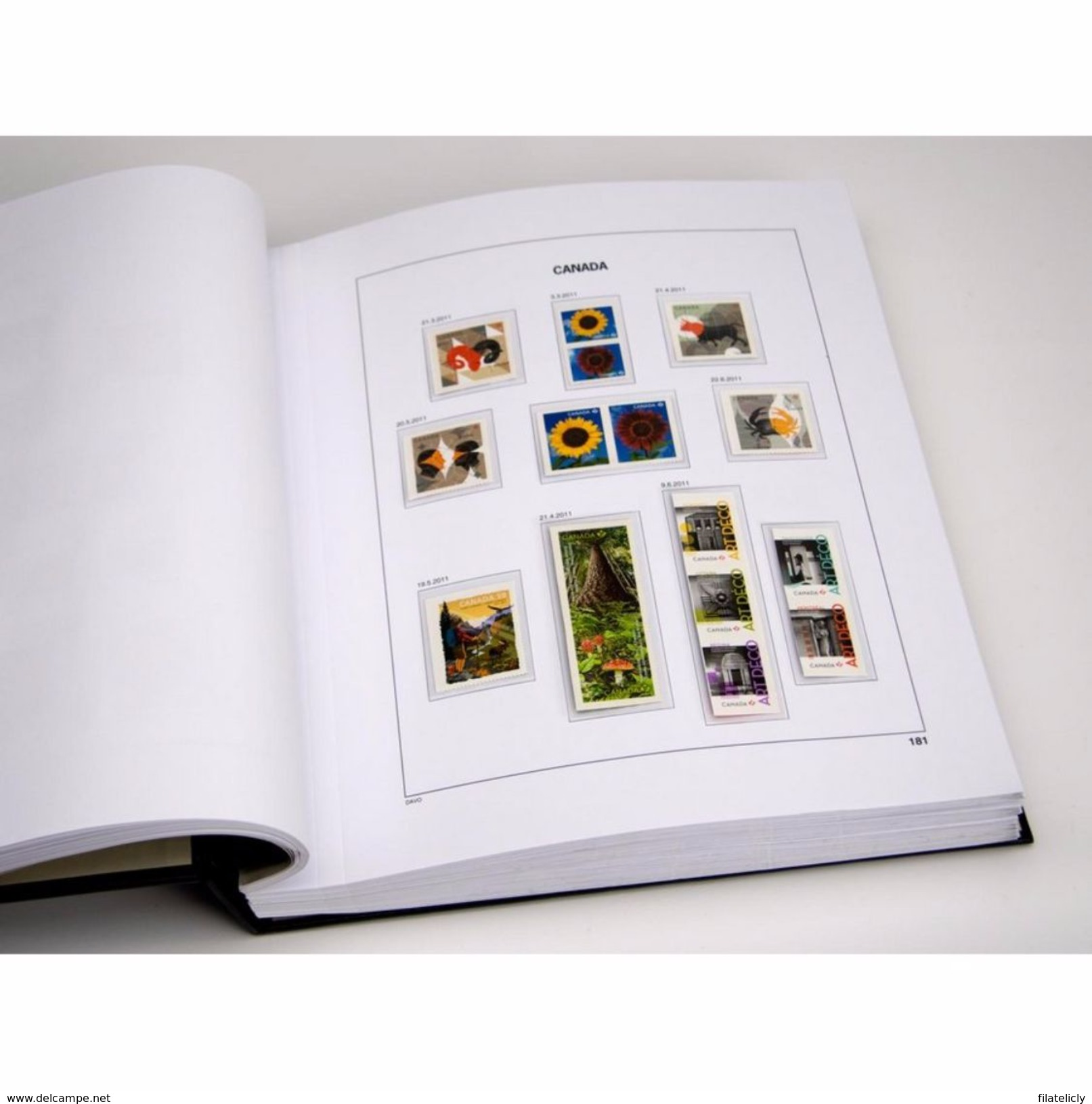 DAVO PRINTED ALBUMS CANADA LUXE ( III 1986-1999) + Free Shipping NL + BE - Albums & Bindwerk