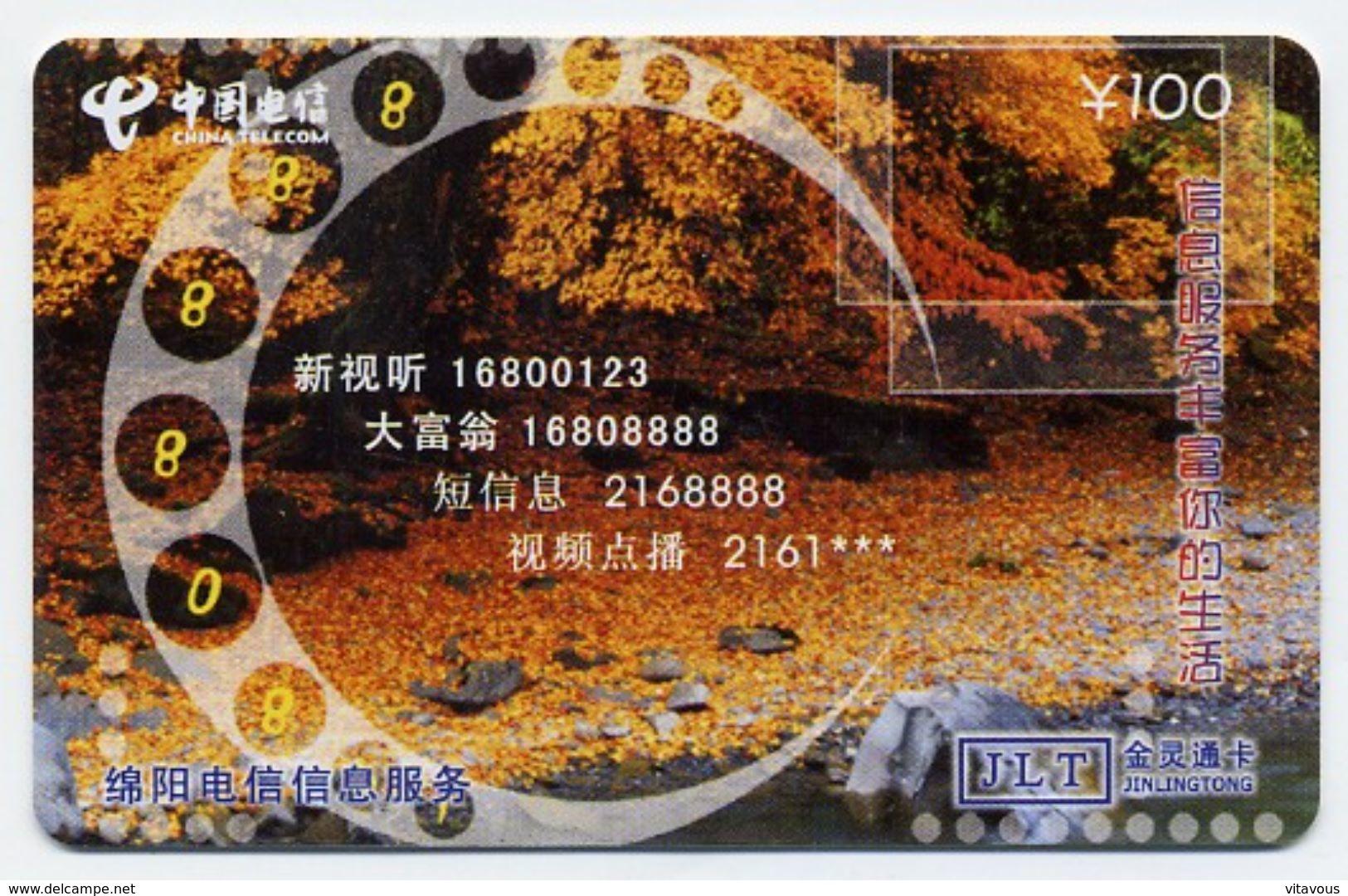 Corail Mer Télécarte Phonecard  (S.473) - Chine