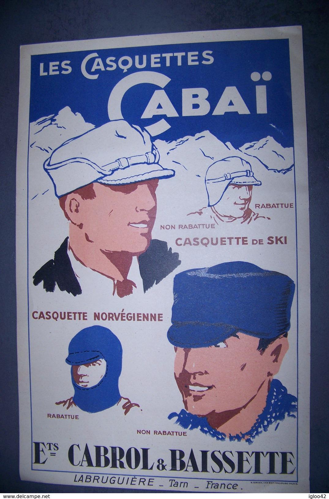 Les Casquettes CABAÏ - Casquettes & Bobs