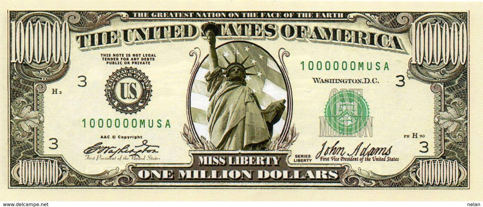 STATI UNITI- BANCONOTA DOLLARS- EMISSIONI DI  FANTASIE-UNC - Stati Uniti