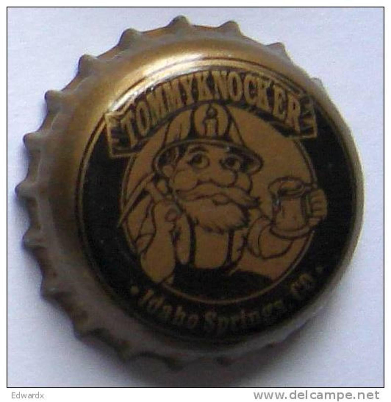 Tommyknocker USA Beer Bottle Top Crown Cap Kronkorken Capsule Tappi Chapa - Beer