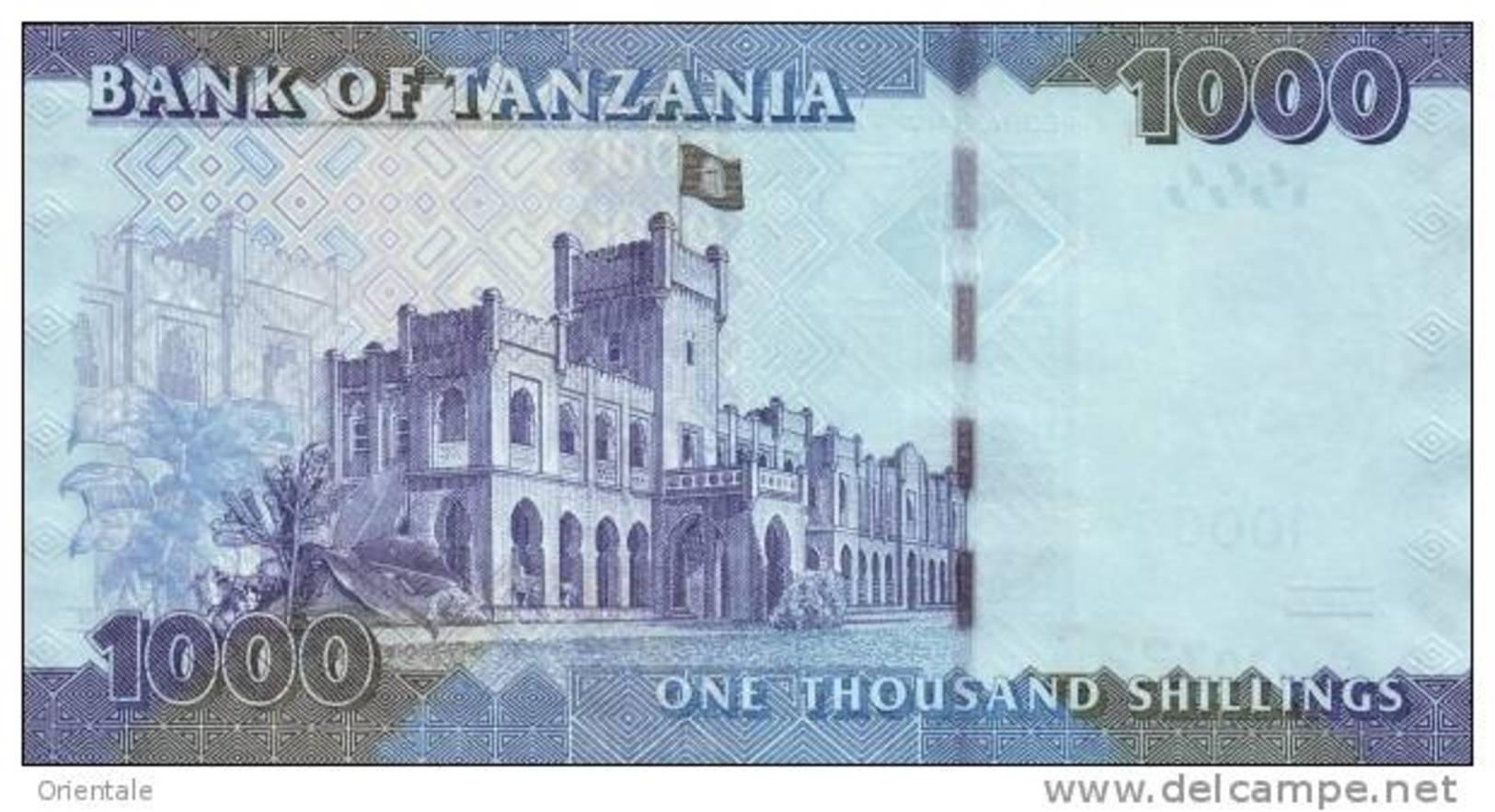 TANZANIA P. 41 1000 S 2010 UNC - Tanzanie