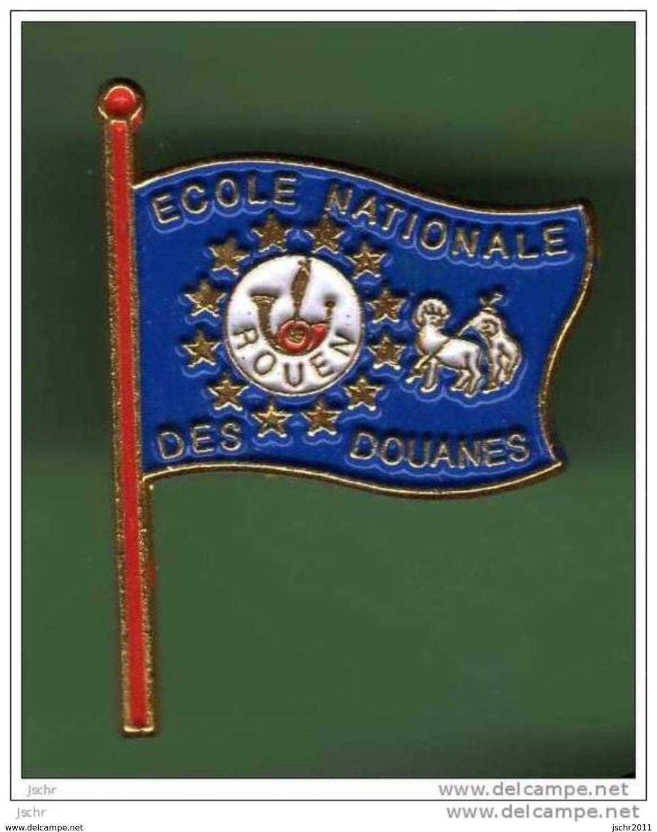 DOUANES *** ECOLE NATIONALE ROUEN *** A013 - Police