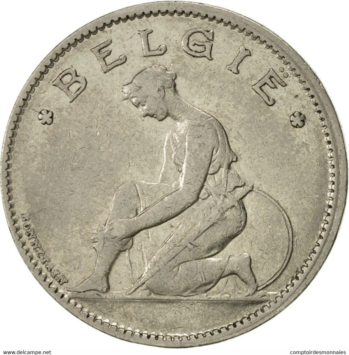 Belgique, Franc, 1935, SUP, Nickel, KM:90 - 1934-1945: Leopold III