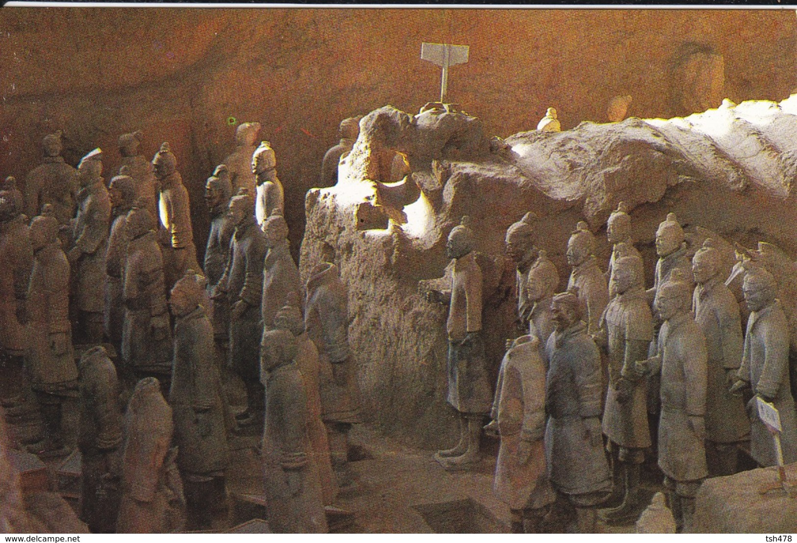 ASIE--CHINE-CHINA--a Corner Of The Battle Formation--voir 2 Scans - Chine