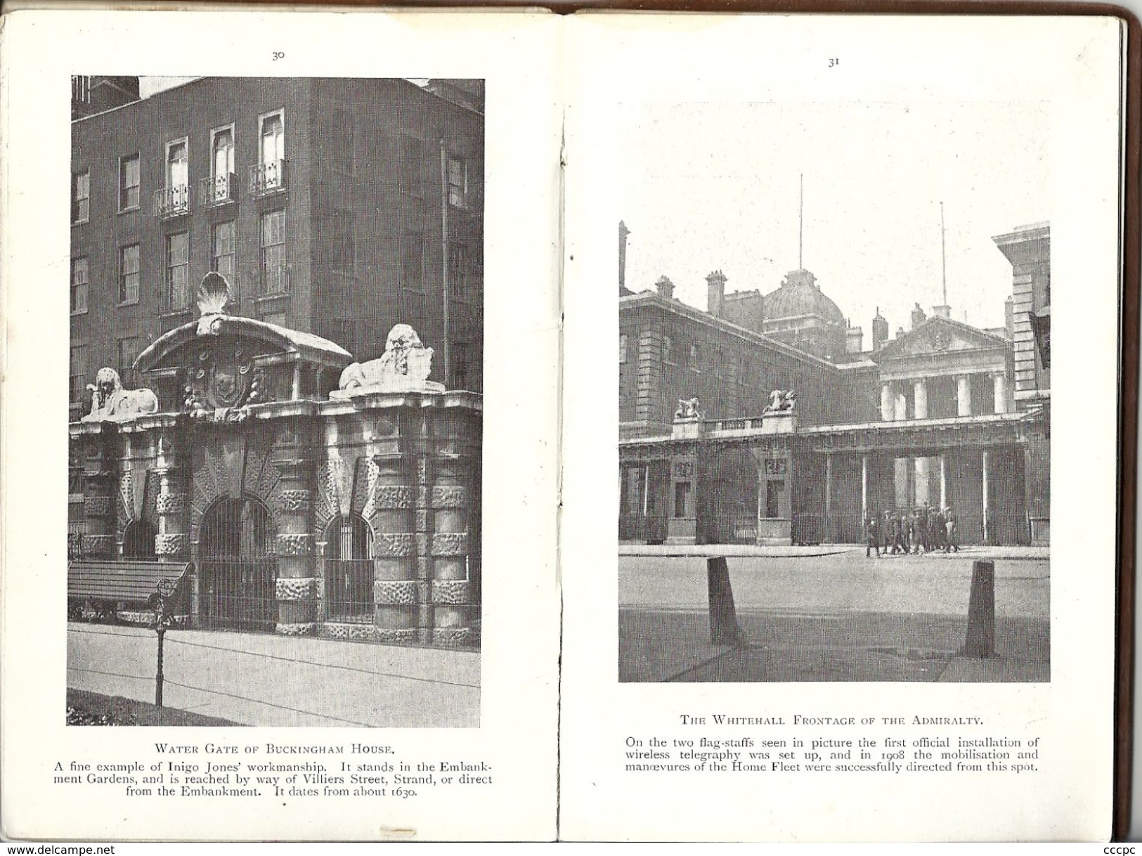 Livre Picturesque London 1909 60 Illustrations - Photographie