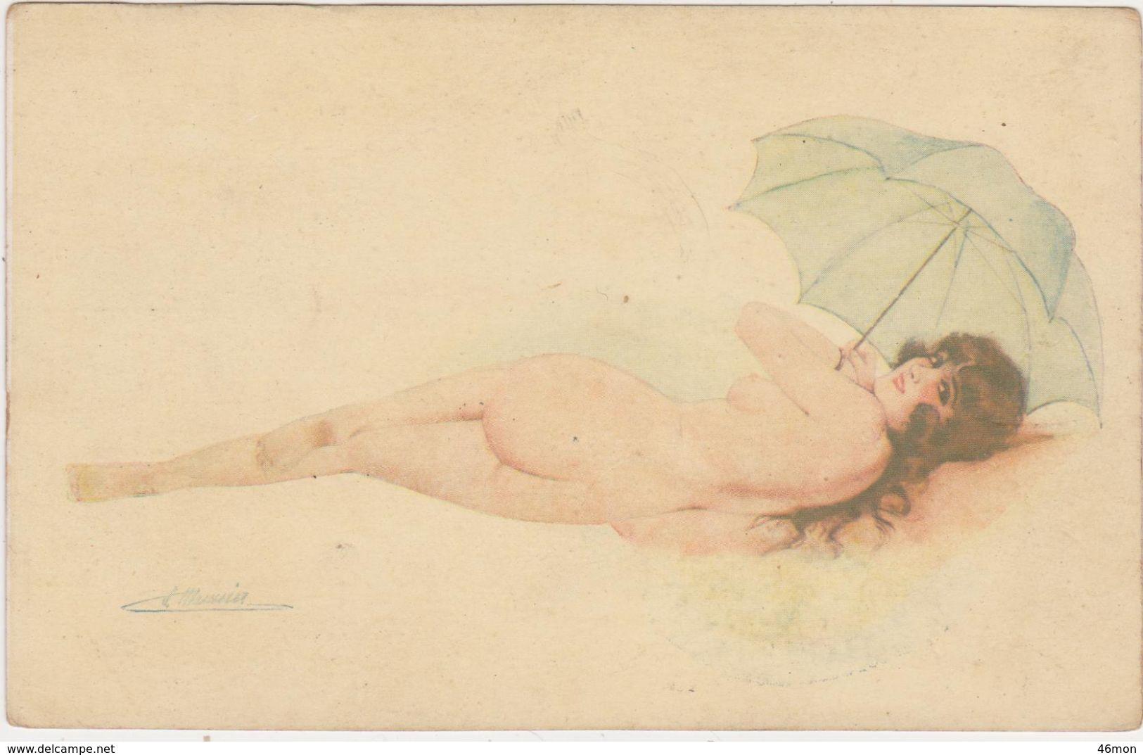 Suzanne Meunier;En Costume D'Eve.Série No 26 - Meunier, S.