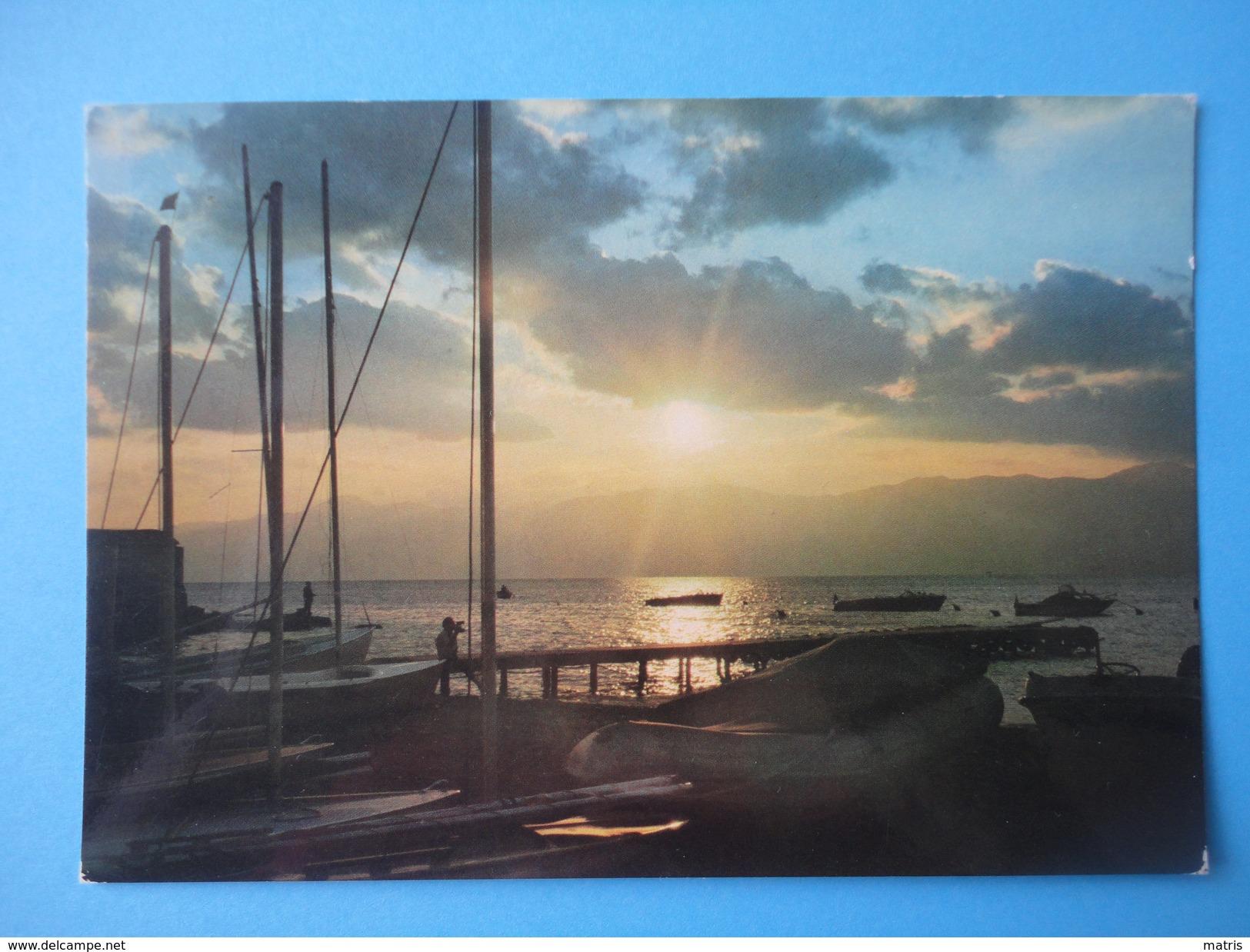 Riviera Adriatica - Controluce - Tramonto Mare E Barche - Controluce