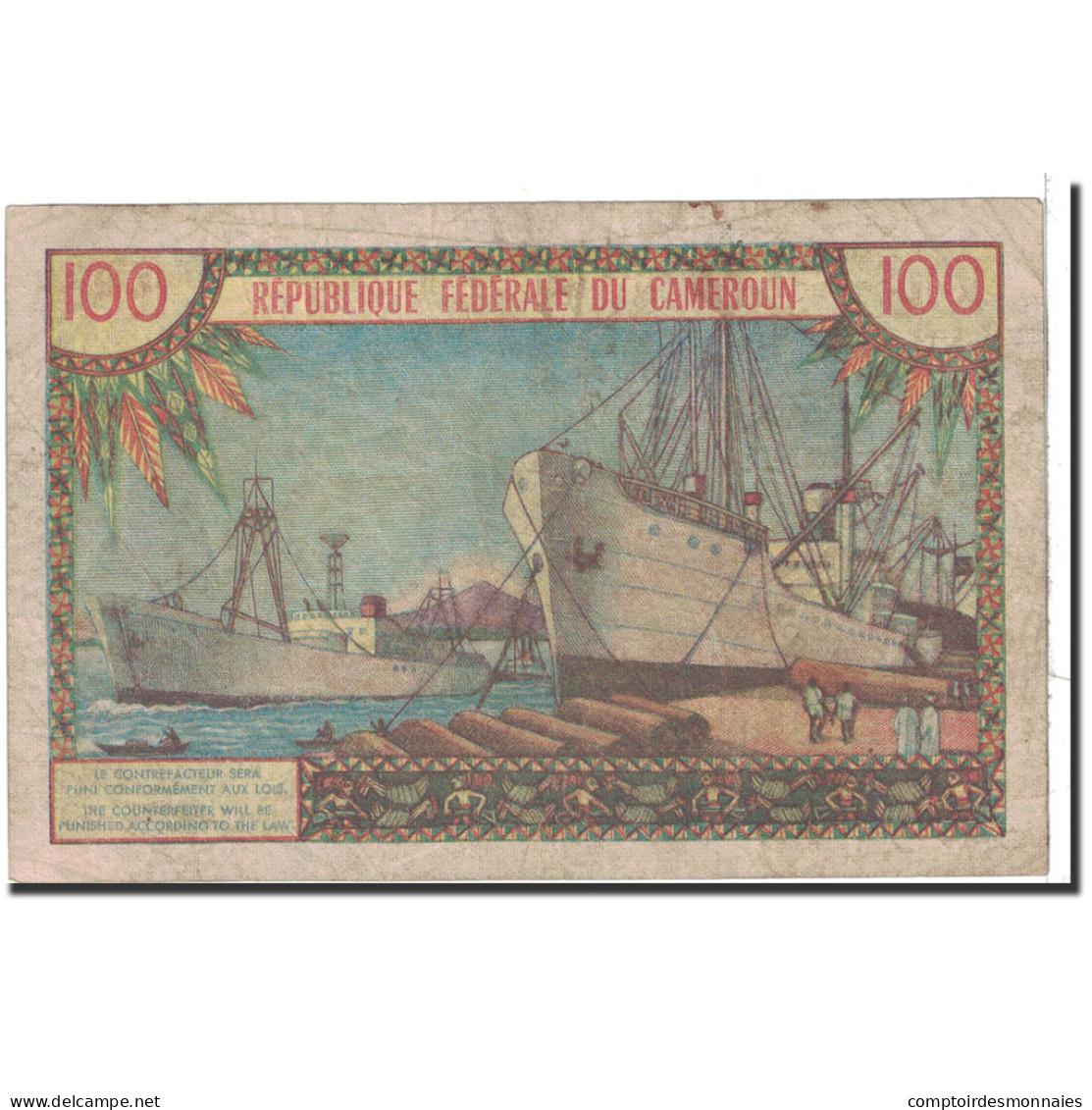 Cameroun, 100 Francs, 1962, KM:10a, TB - Kameroen