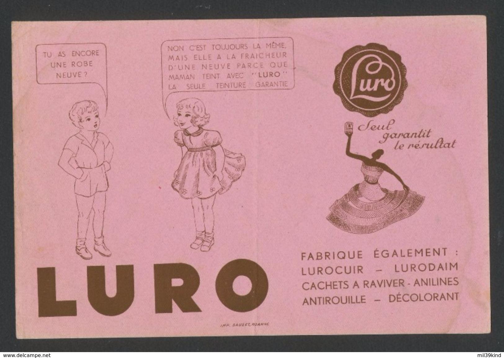 Buvard - Détachanr Ravivant - LURO - L