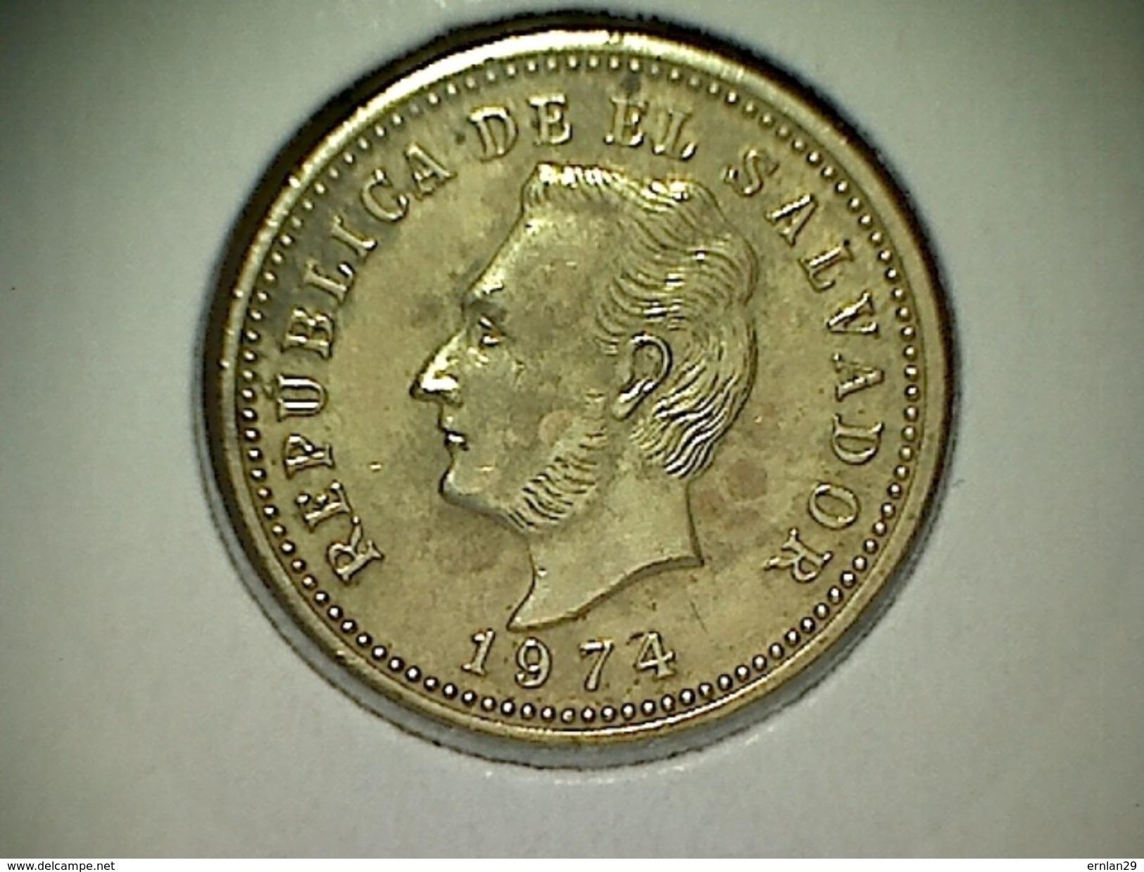 El Salvador 3 Centavos 1974 - Salvador
