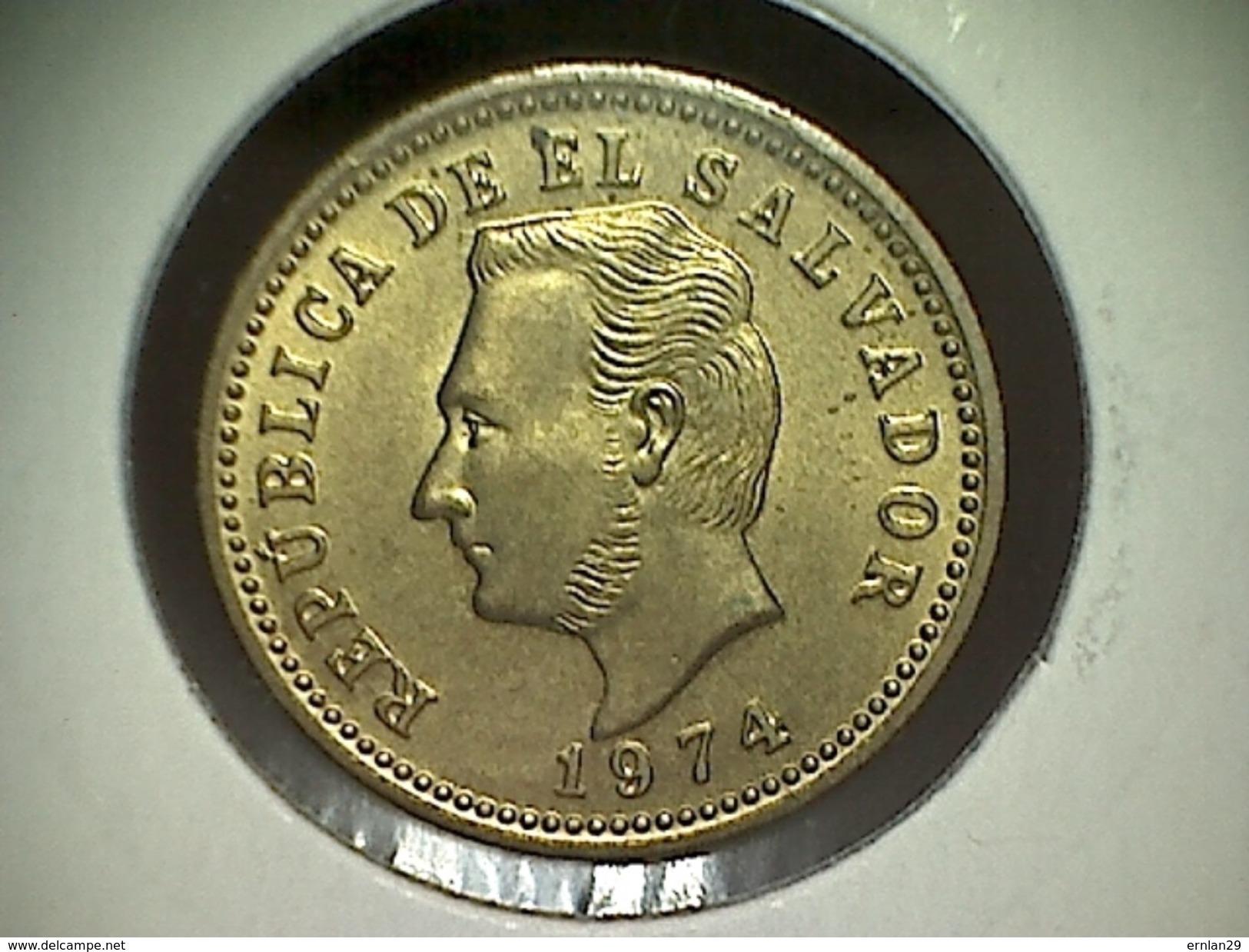 El Salvador 3 Centavos 1974 TTB - Salvador