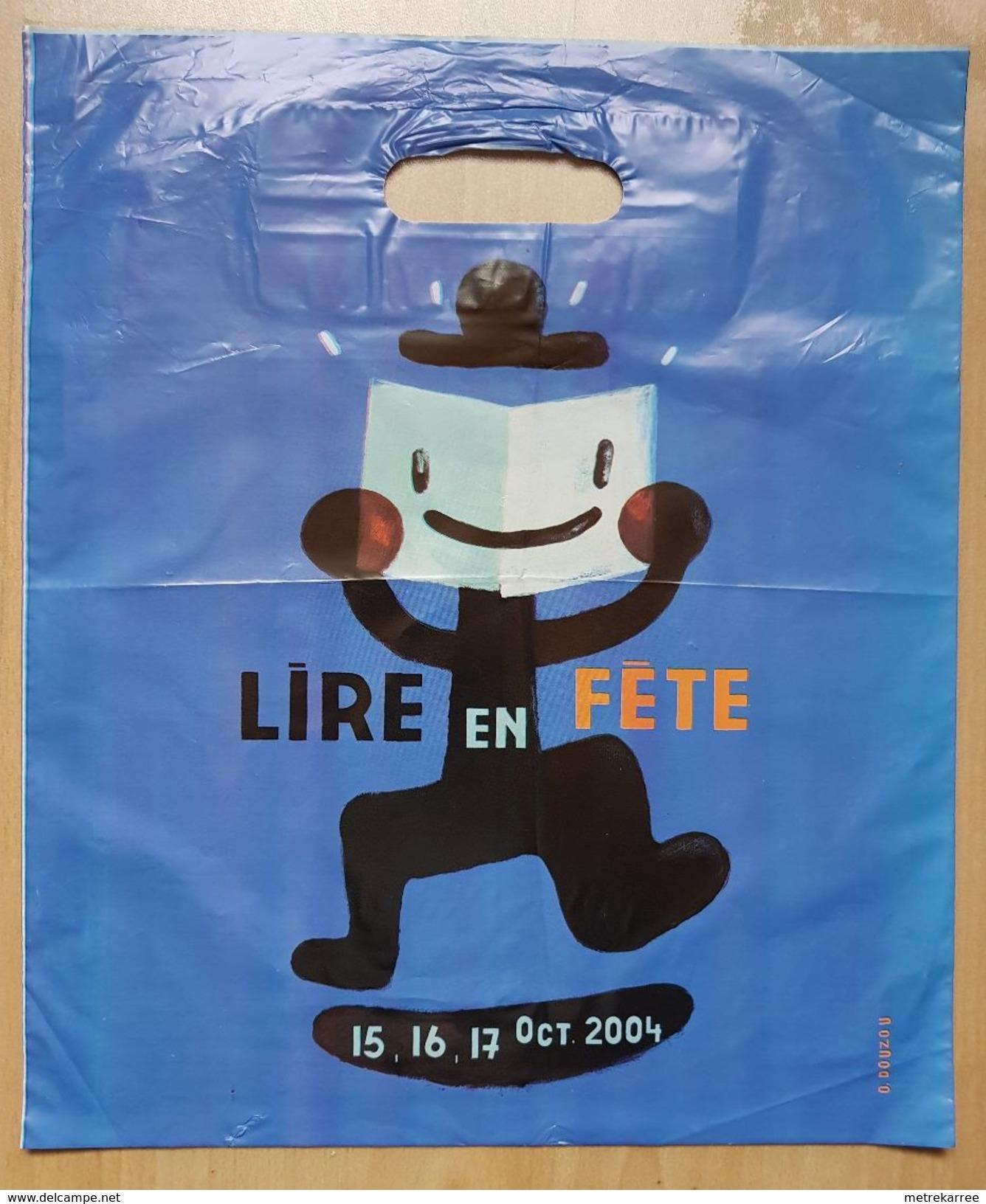 Sac/zak Lire En Fête 15, 16, 17 Oct 2004 (Douzou) - Boeken, Tijdschriften, Stripverhalen