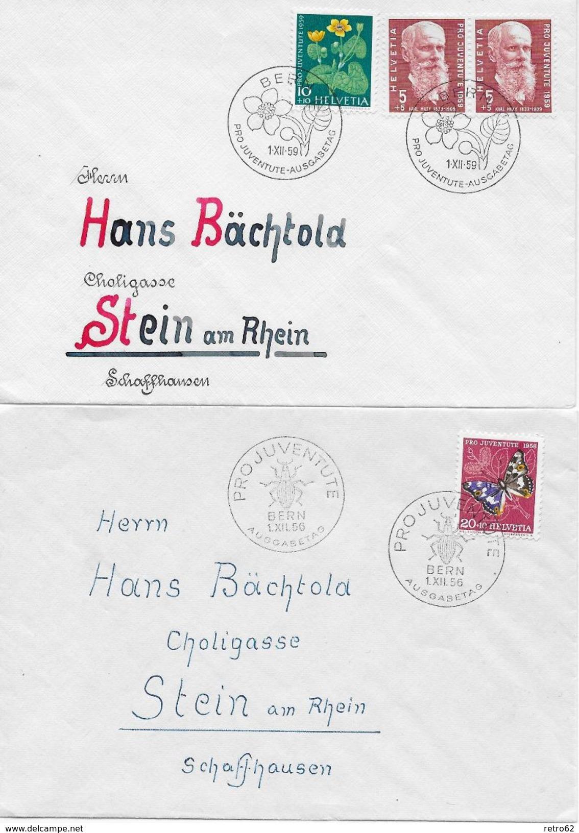 KANTON SCHAFFHAUSEN → 6 Heimatbelege ►weitere Info In Der Beschreibung◄ - Collections